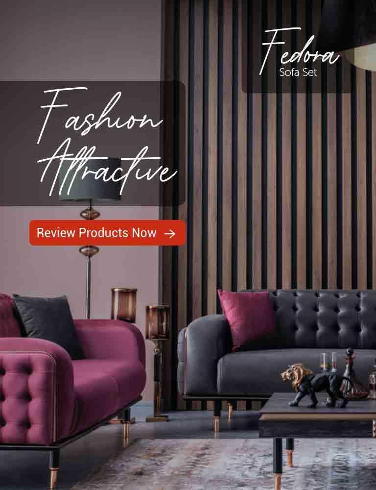 fedora sofa set