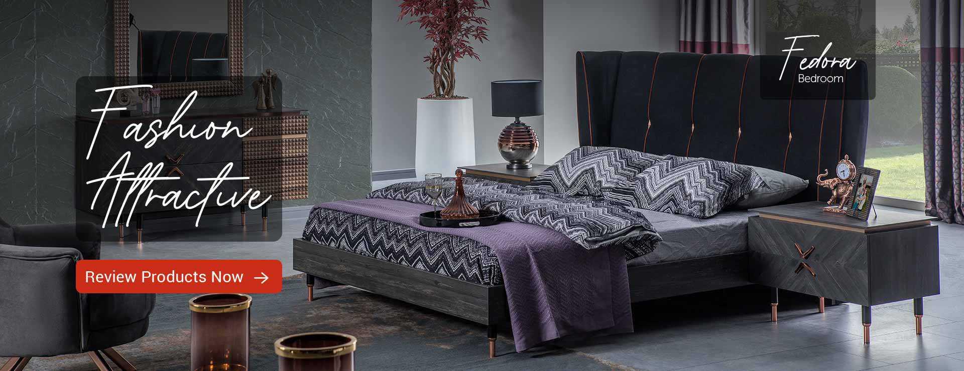 fedora bedroom